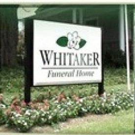 Whitaker Funeral Home Inc.