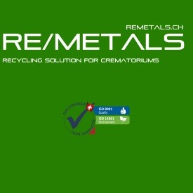 RE/METALS Swiss recycling concept for crematoriums
